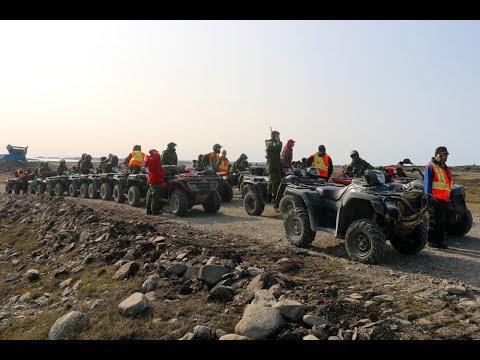 Opération NANOOK 2017 à Rankin Inlet