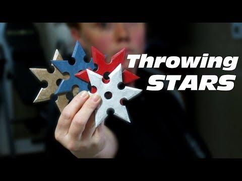 Throwing Stars   Laminated Paper (Micarta)