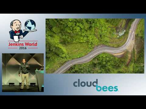 Jenkins World 2016 - CloudBees Keynote by Sacha Labourey