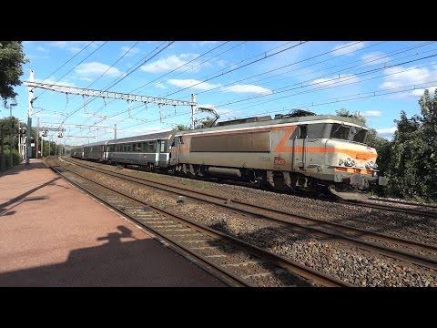 """Locomotives """"nez cassés"""" à Paris"""