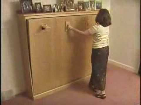 Create A Bed Murphy Bed Mechanism Youtube