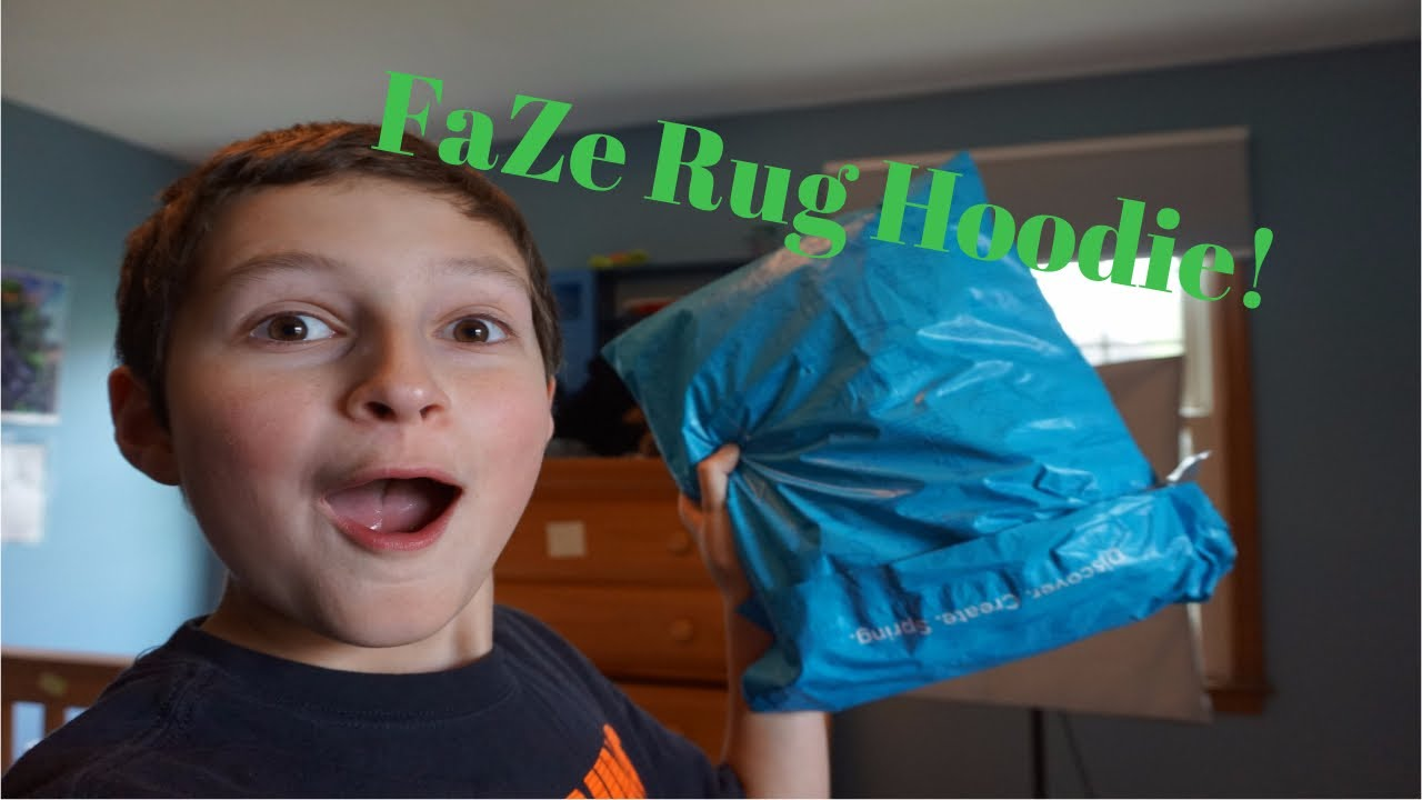 Limited Edition Faze Rug Hoo Unboxing Maroon