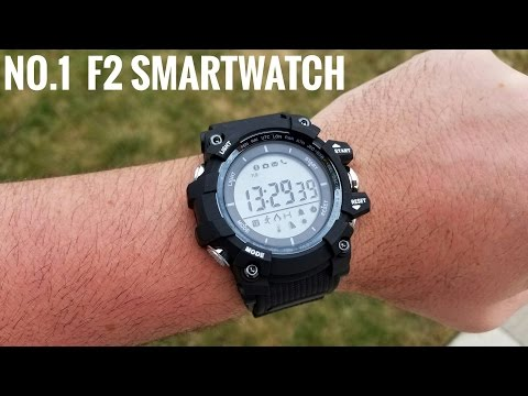No.1 F2 Smartwatch ⌚REVIEW - No more charging the battery!