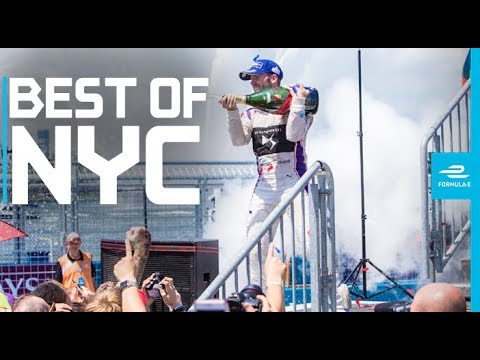 The Greatest NYC E-Prix Formula E Moments! | ABB FIA Formula E Championship