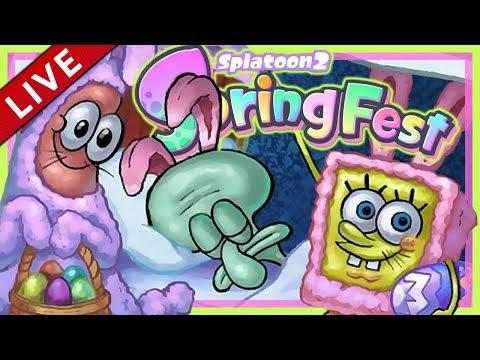 SPLATOON 2 Splatfest #21: Springfest: Frohe frühe Ostern! [1080p] ★ Let's Play