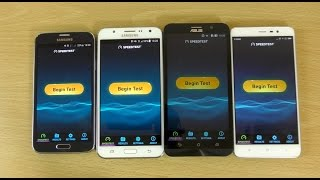 Internet Speed Test - Redmi Note 3 VS Zenfone 2 VS Galaxy J7 VS Galaxy S5 Neo!