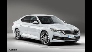 2019-2020 Skoda Octavia First Renderings and Spy Pictures