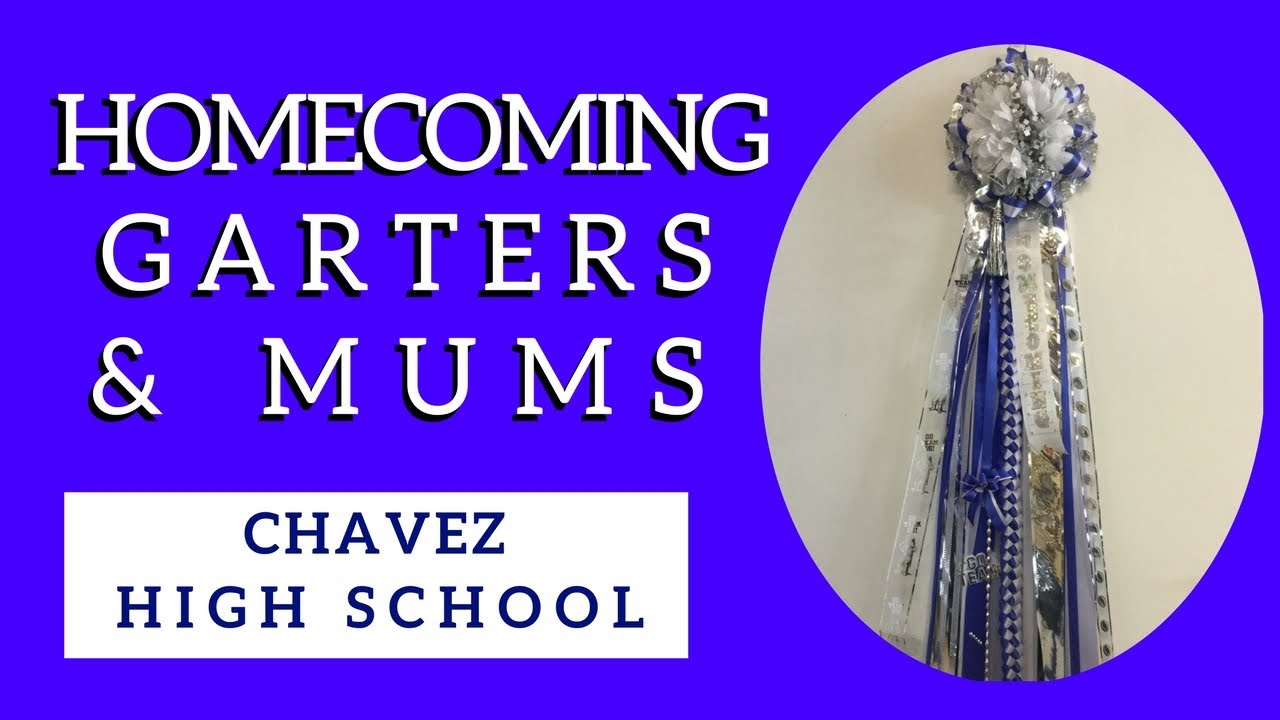 Chavez Homecoming Mums Homecoming Garters In Houston Tx High