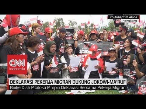 Deklarasi Pekerja Migran Dukung Jokowi-Ma'ruf Mp3