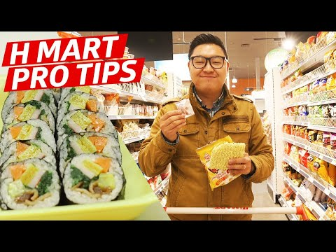 WATCH: Beginners Guide To Shopping At New Paramus H-Mart