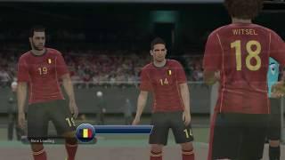 PC HD Gameplay PES 2016 Konami Cup - Belgium vs England