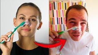PROBANDO TRUCOS DE BELLEZA QUE DEBES SABER *con pasta de dientes* de 5 Minute Craft