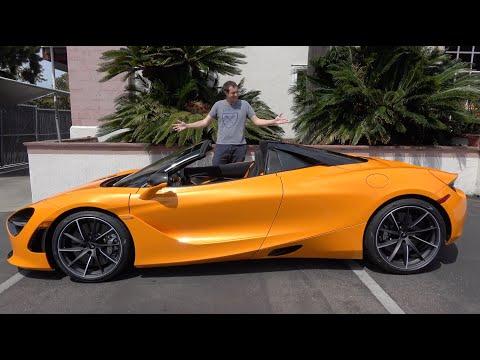 Here's Why The McLaren 720S Spider Is the Best New McLaren