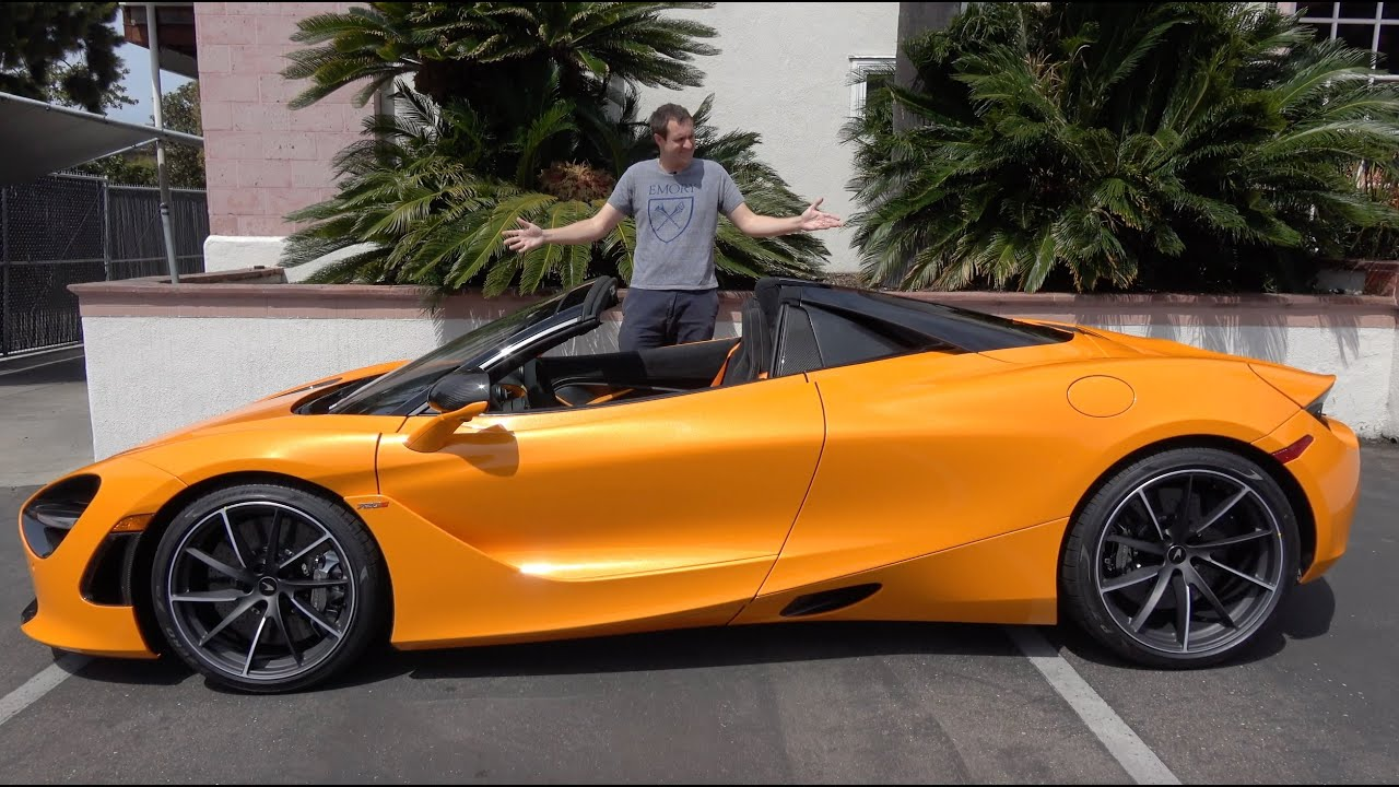 Here's Why The McLaren 720S Spider Is the Best New McLaren