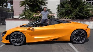 homepage tile video photo for Here's Why The McLaren 720S Spider Is the Best New McLaren