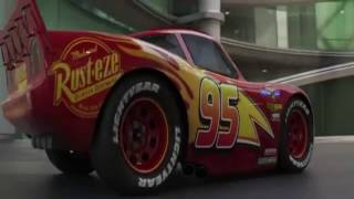 "Cars 3 ""Lightning Strikes"" Extended Look but everything backwards."