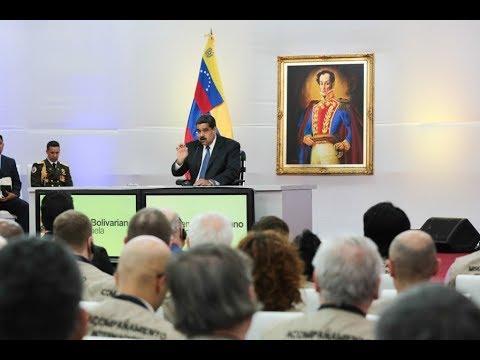 Nicolás Maduro se reúne con acompañantes internacionales, 18 mayo 2018