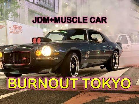 BURNOUT TOKYO+JDM