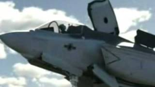Joint Strike Fighter--vertical take-off sequence