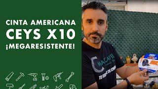 Cinta americana CEYS X10 MEGARESISTENTE !