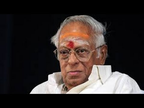 Reporter about Tamil music legend M S Viswanathan dead