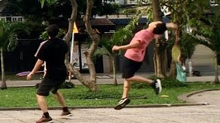 Badminton on November 28, 2020 | Khanh/Ha/Nhien vs Viet/Trung/Anh