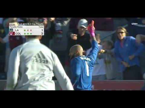 PK Shootout: Tim Howard  vs. Steven Gerrard, Giovani Dos Santos, Ashley Cole