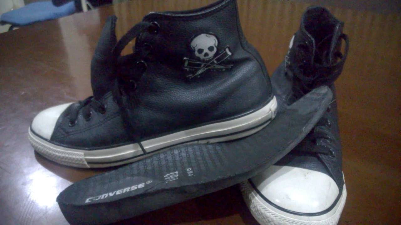 39136fbd4c11 Converse Jackass leather Review - YouTube