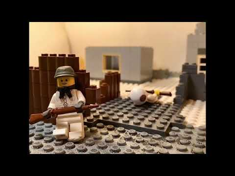 Lego WWII - Battle Of Moscow (Short)