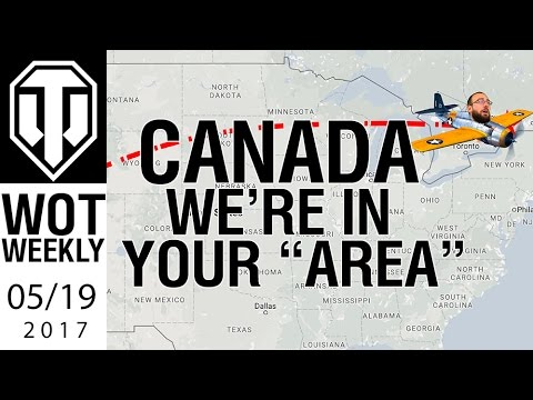 World of Tanks Weekly #12 - We're in CANADA!
