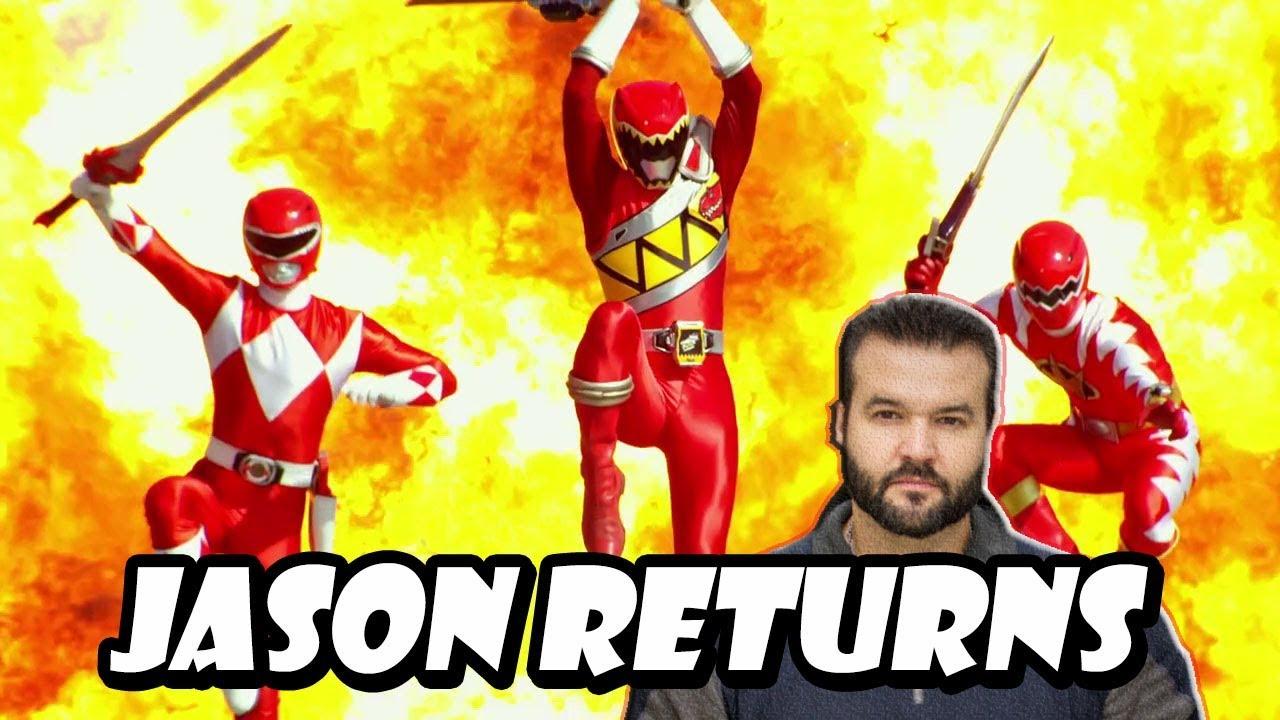 Jason (Austin St  John) To Return For Power Ranger Beast Morphers Team Up