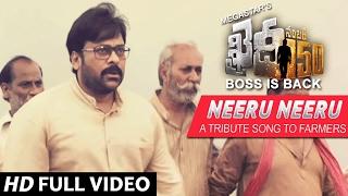 Neeru Neeru Full Video Song  Khaidi No 150 Full Video Songs Chiranjeevi, Kajal Aggarwal