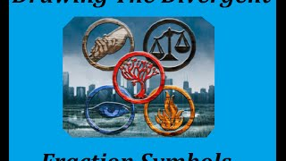 Drawing Divergent Faction Symbols
