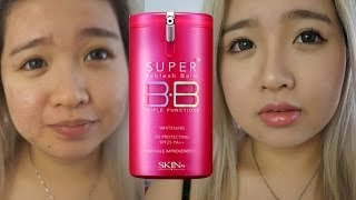 Skin79 HOT PINK Super Plus BB Cream SPF25 ++ First Impression Review