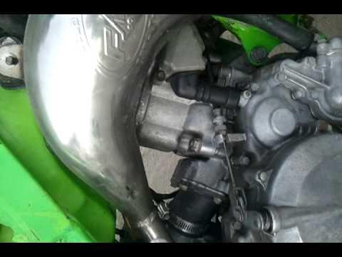 kx 125 engine noise ? - YouTube