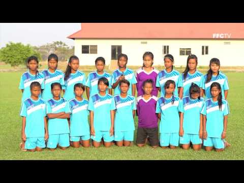 Cambodia's Women U14 National Football Team's Message For 8 March 2016