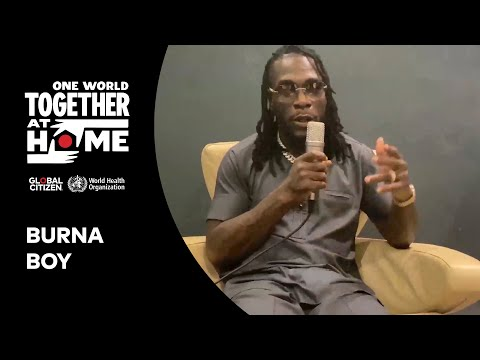 "Burna Boy performs ""African Giant"" & ""Hallelujah"" 
