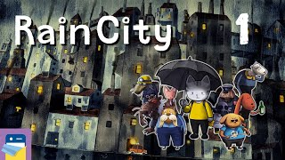 Rain City: iOS / Android Gameplay Walkthrough Part 1 (by COTTONGAME)