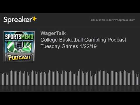 College Basketball Picks and Predictions (College Basketball Gambling Podcast Tuesday Games 1/22)