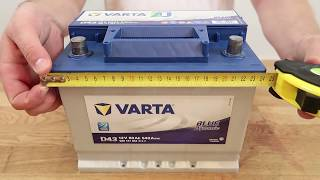 видео Автомобильные аккумуляторы VARTA Blue Dynamic