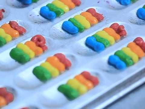 Proses Menyediakan Rainbow Cookie Amsyarbaker Biskut Lidah Kucing