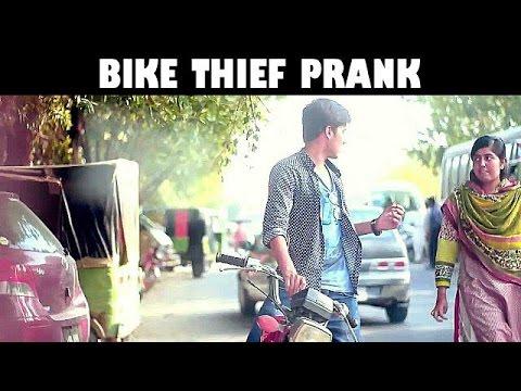Bike thief  prank by Talha.Wish | pranks in pakistan