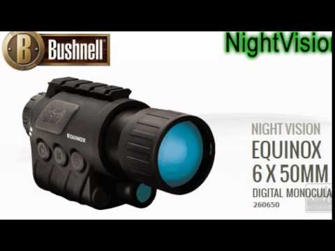 Jual teropong malam bushnell equinox mm hp  youtube