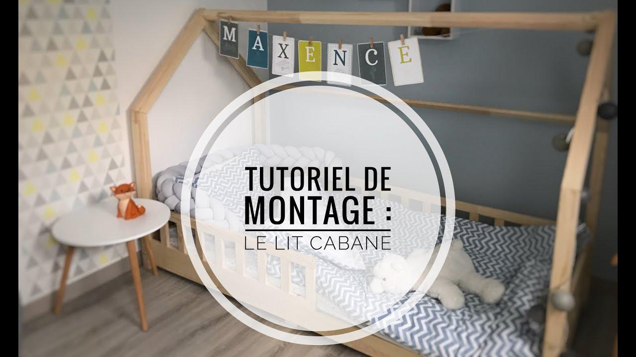 Fabriquer Lit Cabane Montessori tutoriel : montage du lit cabane