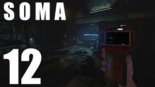 SOMA #12 - Кирпичная фабрика запущена на максимум  (ХОРРОР, прохождение)