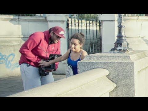 VLOGG | Slagen under musikvideon i London.