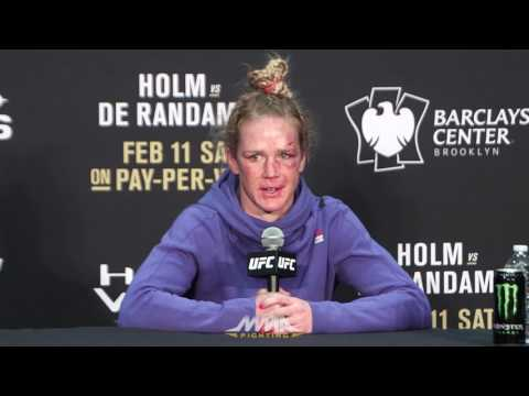 UFC 208 Post-Fight Press Conference: Holly Holm