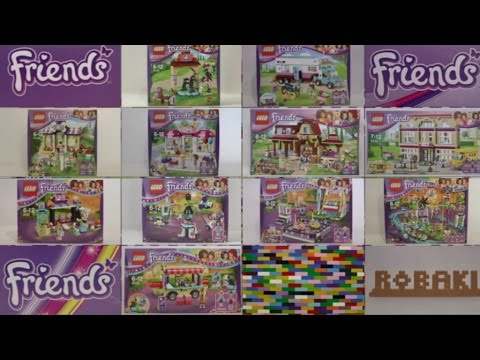 Nowości Sierpień 2016 Lego Friends Youtube