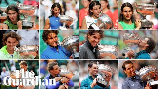 Rafael Nadal: the story of the King of Clay's dynasty at the French Open