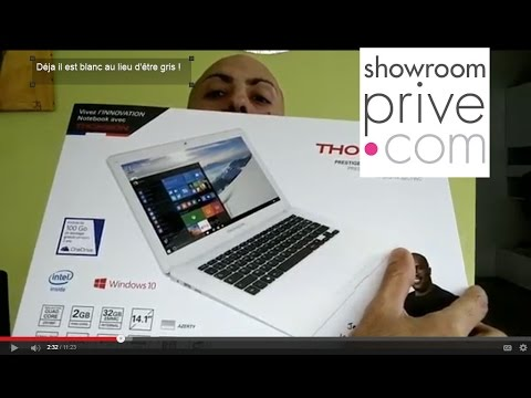 Ordinateur Portable Thomson THN14 - Showroomprive - YouTube f78fc5e4db33
